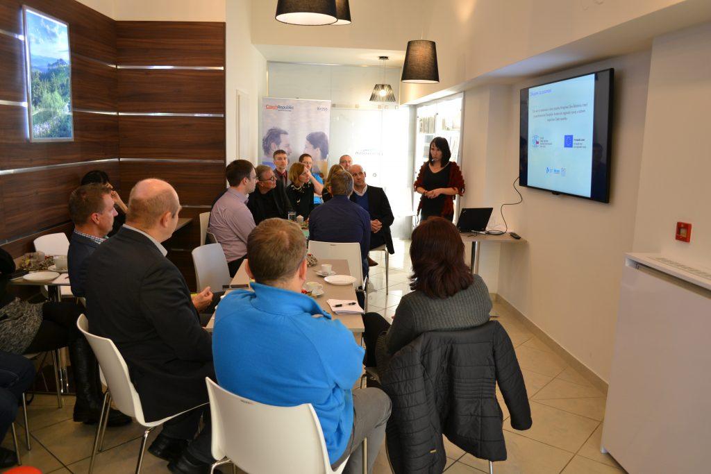 Představení projektu v Regionálním infocentru Plzeňského kraje a Bavorska v Plzni